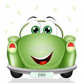 Ecological green car