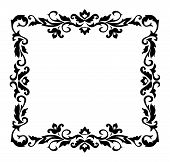 Decorative border ornament