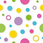 colorful circles pattern