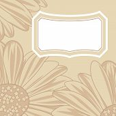 Daisy Greeting Card.