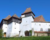 Viscri fortified church, in Transylvania, Romania