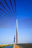 stock photo of trans  - Tran Thi Ly bridge - JPG