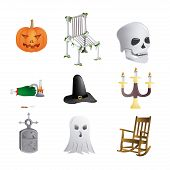 Halloween Backgrounds Vector