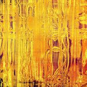 Abstract grunge background or old texture. With different color patterns: yellow, orange, brown