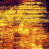 Grunge, vintage old background. With different color patterns: yellow, orange, brown, beige