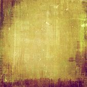 Old grunge textured background. With different color patterns:  yellow, brown, green, gray