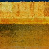 Aged grunge texture. With different color patterns: yellow, brown, orange, green, gray