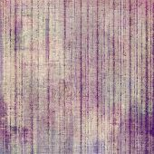 Old texture with delicate abstract pattern as grunge background. With different color patterns: purple (violet), gray