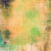 Vintage texture ideal for retro backgrounds. With different color patterns: yellow, brown, green