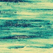 Grunge old texture as abstract background. With different color patterns: blue, gray, yellow, green