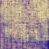 Art grunge vintage textured background. With different color patterns: yellow, gray, blue, violet