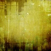 Textured old pattern as background. With different color patterns: green, brown, gray