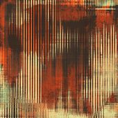 Aged grunge texture. With different color patterns: brown, orange, gray