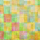 Art grunge vintage textured background. With different color patterns: yellow, red, green, blue