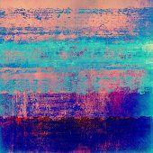 Antique vintage textured background. With different color patterns: purple (violet), blue, orange, violet
