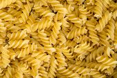 Delicious Food Background Of Yellow Pasta