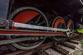 Heavy locomotive wheels