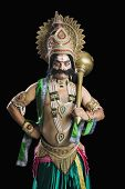 pic of ravana  - Portrait of a person dressed - JPG