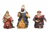 picture of cultural artifacts  - Figurines of Three Wise Men - JPG