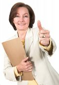 business success - thumbs up