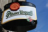Pilsener Urquell Sign