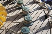 stock photo of messina  - Detail of rigging - JPG