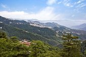 pic of himachal pradesh  - Clouds over mountains - JPG