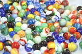 Marbles Of Different Colors
