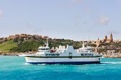 foto of gozo  - Port of Mgarr on the small island of Gozo - JPG