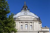 stock photo of city hall  - The Methodist Central Hall in the City of Westminster London - JPG