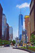 picture of freedom tower  - New York United States  - JPG