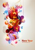 pic of new years  - New year poster - JPG