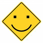 Smiley Sign