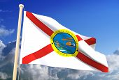 Florida Flag (Clipping Path)