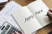 Employment Human Resources Help Wanted Manpower Recruitment Concept poster