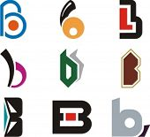 Alphabetical Logo Design Concepts. Letter B. Check my portfolio for more of this series.