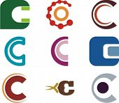 Alphabetical Logo Design Concepts. Letter C. Check my portfolio for more of this series.