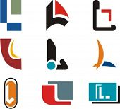 Alphabetical Logo Design Concepts. Letter L. Check my portfolio for more of this series.