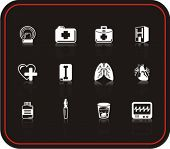 Exclusive Series of Medicine Icons. Check my portfolio for much more of this series as well as thousands of similar and other great vector items.