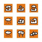 Exclusive Series of Weather Icons. Check my portfolio for much more of this series as well as thousa