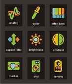 Color Icon Series. Media icons set. Check my portfolio for much more of this series as well as thous