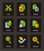 Color Icon Series. Basic icons set. Check my portfolio for much more of this series as well as thous