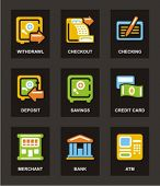 Color Icon Series. Finances icons set. Check my portfolio for much more of this series as well as th