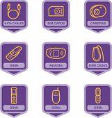 Merchandise Pictogram Series - Telecommunications, IT