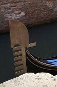 Detail Of A Gondola Ferro