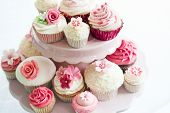 pic of cake stand  - Cupcake selection - JPG