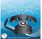 retro phone - technology with a modern twist