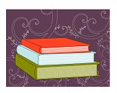 books Back to school vector