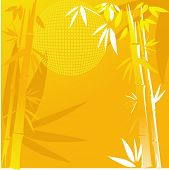 bamboo in yellow