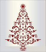 decorative christmas tree separate elements easily change colors